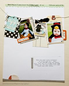 Cute photos, tags, details make this worthy of being scraplifted really soon!