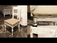 Gamla stolar blir ännu äldre - Old chairs becomes even older - YouTube