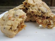 A Sweet and Salty Duo: Chocolate Chip Pretzel Cookie