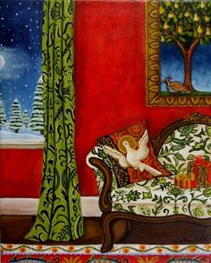 Holiday Interior ~ Catherine Nolin