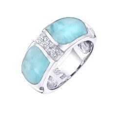 Image result for larimar engagement ring