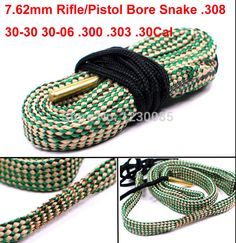 This item is now available in our shop.   Boresnake 7.62mm Rifle/Pistol Bore Snake Gun Cleaning .308 30-30 30-06 .300 .303 .30Cal boresnake 24015 free shipping - US $4.70 http://freesportsoutdoors.com/products/boresnake-7-62mm-riflepistol-bore-snake-gun-cleaning-308-30-30-30-06-300-303-30cal-boresnake-24015-free-shipping/