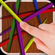 Att spela plockepinn kan vara svårt, testa att spela i din iPad. Tålamodsprövande, öga/handkoordination.