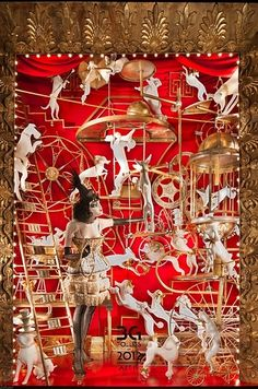 The Bergdorf Goodman Holiday Windows Are Up, And Holy Hell They're Beautiful