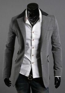 Color Piped Slim Blazer