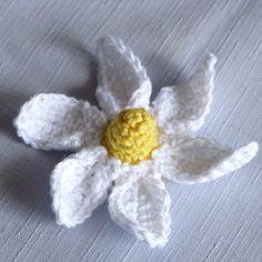 Crochet Pattern: Spring Daisy Flower