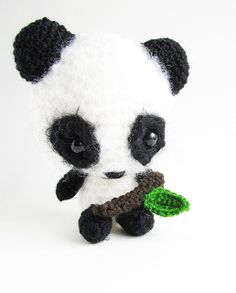 Amigurumi Miku the Panda and Leaf ~ Free Pattern