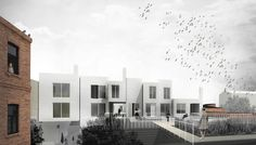 GAISS architects Residential houses on top of old market building, Riga, Latvia