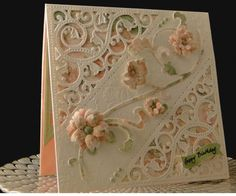 Flowers and Swirls by jasonw1 - Cards and Paper Crafts at Splitcoaststampers