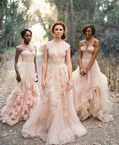 Blush brides