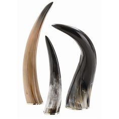 Interior HomeScapes offers the Bernard Horns, Set of 3 by Arteriors.  Visit our online store to order your Arteriors products today.