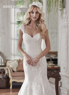 Large View of the Rosamund Bridal Gown