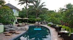 Large Private Ocean Front Estate with Pool and Organic Farm -$7500 a week. Sleeps 16