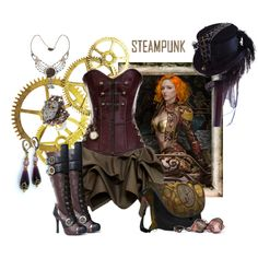 """Steampunk"" by mystimorgan on Polyvore"