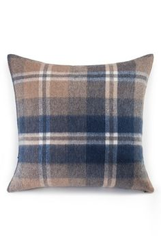 UGG®+Australia+'Glacier'+Plaid+Wool+Pillow+available+at+#Nordstrom