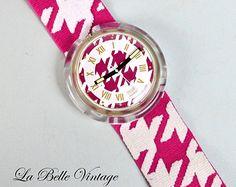 Mademoiselle MLLE ~ Vintage Pop Swatch Watch ~ Unused ~ 1992 PWK164