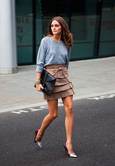 I usually hate tiered skirts, but this is effortlessly cool
