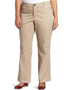 Dockers Women's Plus Size Hello Smooth Continental Khaki Pant, Beachwood, 18 Medium Dockers. $42.99