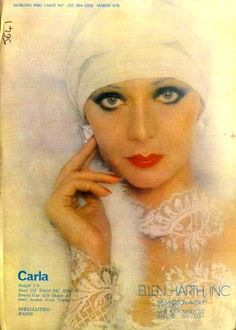 CARLA LA MONTE 1975--TOP RUNWAY MODEL
