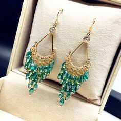 Cheap earrings huggie, Buy Quality earings display directly from China bead clip Suppliers:             V Shaped Gold Plated Metalic Statement Earrings For Women 2016 New Jewelry Bijoux Earings   USD 3.98/pair