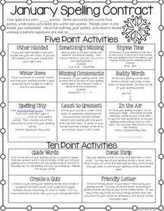 Fourth Grade Spelling Homework Routine Spelling Menu, 4th Grade Spelling, Spelling Homework, Spelling Practice, 4th Grade Writing, Spelling Activities, 4th Grade Reading, Spelling And Grammar, Spelling Words