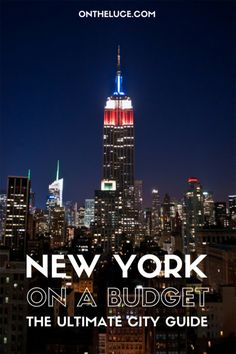 New York on a budget- best!
