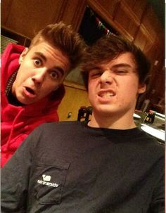 Christian Beadles & Justin Bieber omg