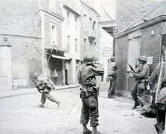 Cover me... St Malo, 1944