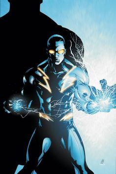 BLACK LIGHTNING - Top Black DC Superheroes