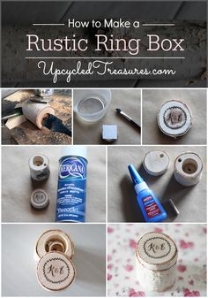 How to Make a Birch Branch Jewelry Box - Upcycled Treasures