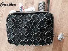 Nespresso:Borsetta per il necessario Pop Tabs, Cup Crafts, Pop Bottles, Hobbies And Crafts, Coffee Cups, Projects To Try, Creations, Diy, Jewelry