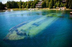 Canada - Ontario - Shipwreck in Tobermory