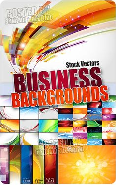 Business backgrounds - Stock Vectors 5 EPS |   JPG Preview | 43 Mb rar