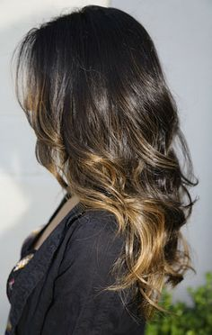 ombre for dark brown hair