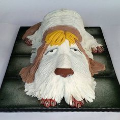 Heen from Howl's Moving Castle. | 33 Studio Ghibli Cakes That Are Guaranteed To Blow You Away