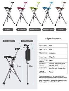 SHIPPING WORLDWIDE💯PAYMENTS VIA PAYPAL AND CREDITCARD.🚛No Customs Problems🚛video introductionThis is a brilliantly designed walking stick that converts into a seat at the touch of a button. Made from strong lightweight aluminium and featuring a solid plastic seat the chair weighs a mere 920 grams. With its unique design the seat can adjust itself according to the angle of the users body to maximize comfort.DescriptionExtremely portable and convenient to store, almost the size and weight Walking Stick With Seat, Walking Sticks, Air Ventilation, Life Savers, Touch, Button, Chair, Strong, Long Distance