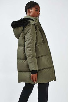 top shop Quilted Puffer Jacket