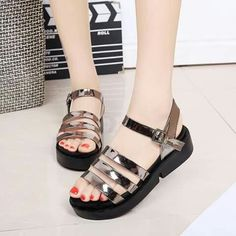 Pin by Hendhessan Hh on Sandal in 2019 Kawaii Shoes, Kawaii Nails, Gladiator Sandals, Shoes Sandals, Girls Sandals, Sports Shoes, Comfortable Shoes, New Fashion, Casual Shoes