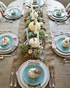 Setting and colors · Thanksgiving MantleThanksgiving Table ... & DIY Home Decor: Fall Home Tour | Fall table Thanksgiving and 30th