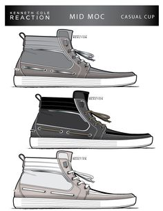 Kenneth Cole Reaction SS15 Mens Footwear by Elie Man at Coroflot.com