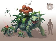 REALISTIC POKEMON - Bulbasaur   by RJ Palmer   Visit: http://arvalis.deviantart.com/