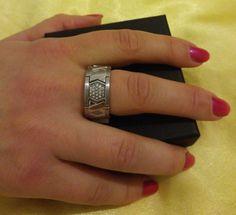 Original Esprit Edelstahl Ring+ UVP 59,90 Euro++Neu+Gr 57 (18,1 mm Ø)+OVP