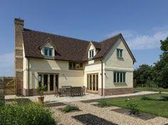 Border Oak Pearmain Cottage variation - Longtown Cottage rear elevation.