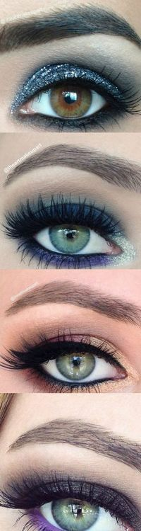 Smokey eye makeup ideas for prom or a night out! There are amazing!