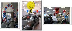 showroom balloon decor   Car Dealerships & Showrooms