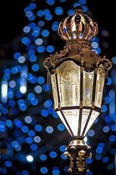 A BLUE CHRISTMAS-The lights of Paris by Janny Dangerous