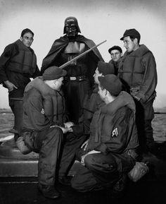 http://www.boumbang.com/agan-harahap/ Dark Vador - Curtis Bay, 1943 Navy Coast Guard, in October 1943 © Agan Harahap