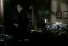 297 Barnabas hears Sarah singing in Maggies room and asks Sarah what she wants of him.