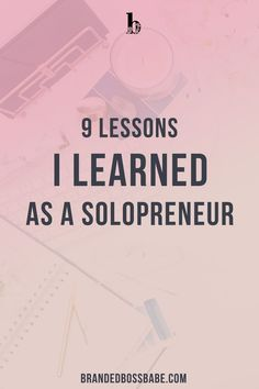 I have been running my business for almost 7 years now as a solopreneur. In those 7 years, I overcame some major roadblocks and learned a l. Business Advice, Home Based Business, Business Quotes, Online Business, Business Education, Career Advice, Business Casual, Online Entrepreneur, Business Entrepreneur