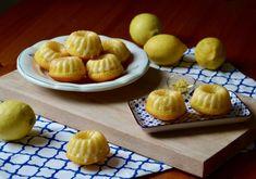 Citronové bábovičky s polevou - TASTE Actually Cakes, Desserts, Food, Meal, Deserts, Essen, Hoods, Pastries, Dessert